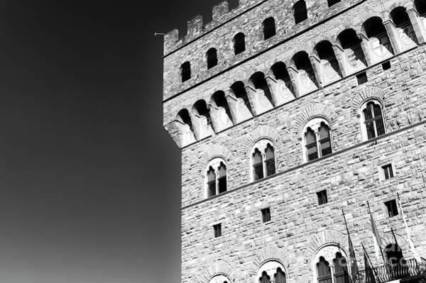 Photograph - Palazzo Vecchio At Piazza Della Signoria In Florence by John Rizzuto