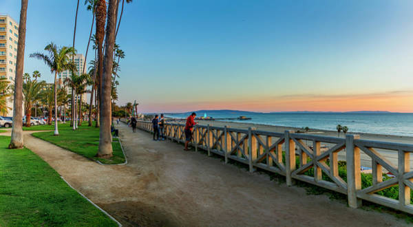 Photograph - Palisades Park - Looking South by Gene Parks