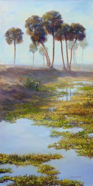 Wall Art - Painting - Palm Tree Hideaway by Laurie Snow Hein