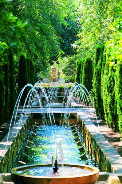 Vertical Garden Photograph - Palma, Mallorca, Spain by Nicholas Pitt