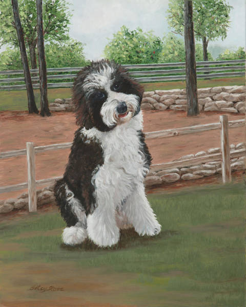 Painting - Palmer by Alice Betsy Stone