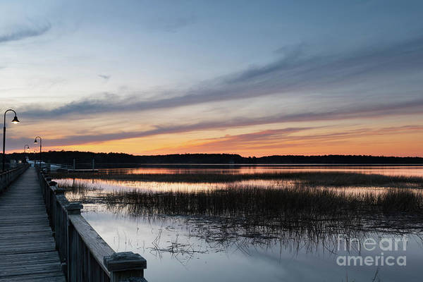 Photograph - Palmetto State Sunset Sky - Wando River  by Dale Powell