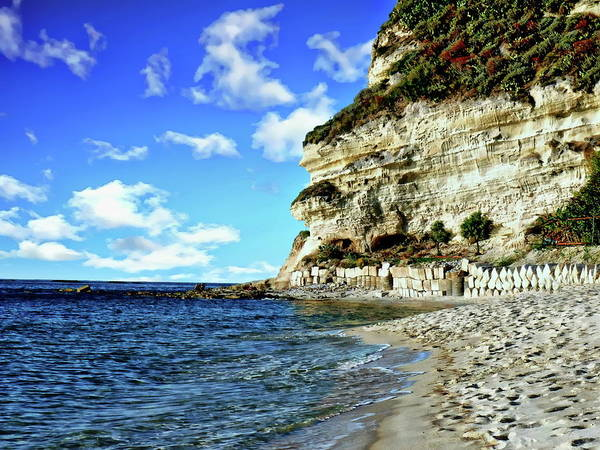 Photograph - Palmi Beach And Coastline by Anthony Dezenzio