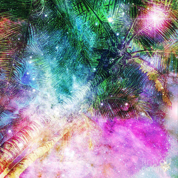 Wall Art - Digital Art - Palmtree by Ron Labryzz