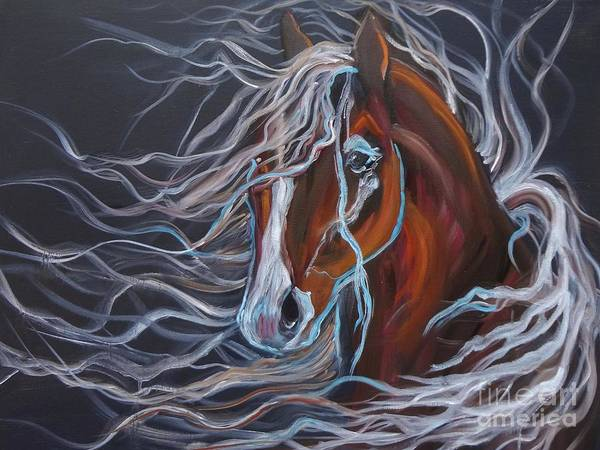 Wall Art - Painting - Palomino by Jenny Lee