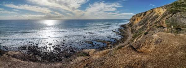 Photograph - Palos Verdes Cliffs From Sagebrush Walk Trail Panorama by Andy Konieczny