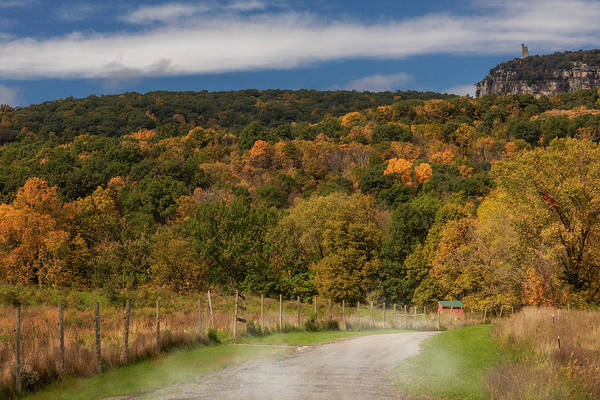 Photograph - Paltz Point Dirt Road by Susan Candelario