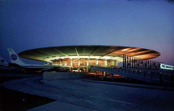Merchandise Photograph - Pan Am Terminal At Idlewild Airport by Dmitri Kessel
