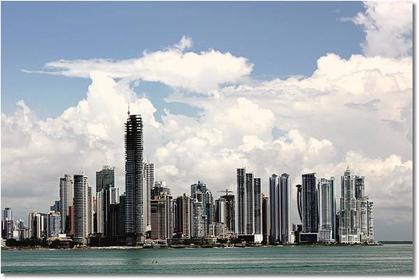 Panama Photograph - Panam Cityscape by J.castro