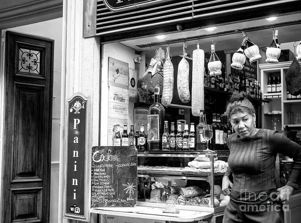 Photograph - Panini In Florence by John Rizzuto