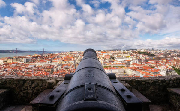 Photograph - Panorama From St George Castle - Lisbon, Portugal by Nico Trinkhaus