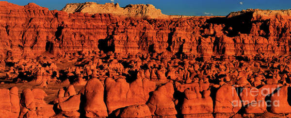Photograph - Panorama Goblin Valley Utah by Dave Welling