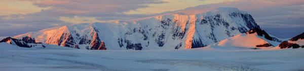 Wall Art - Photograph - Panorama Mountain Range Antarctica by Tom Norring