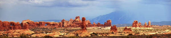 Natural Arch Photograph - Panorama Of Arches Near Double Arch by Utah-based Photographer Ryan Houston