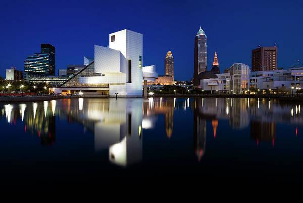 Ohio Photograph - Panorama Of Cleveland by Henryk Sadura