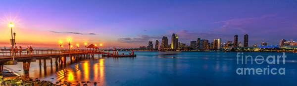 Photograph - Panorama Of Coronado Island by Benny Marty