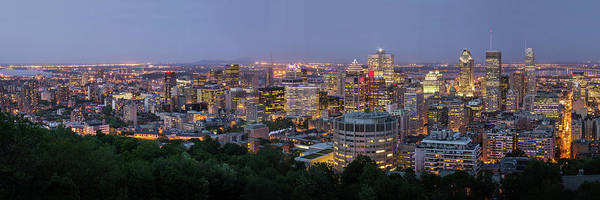 Wall Art - Photograph - Panorama Of Montreal Skyline by Wichan Yingyongsomsawas