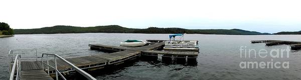 Photograph - Panorama Of Schroon Lake In The Adirondack Mountains In New York by Rose Santuci-Sofranko