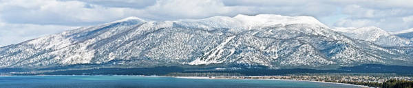 Lake Tahoe Photograph - Panorama Of South Lake Tahoe by Matt Nuzzaco