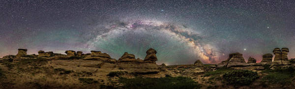 Wall Art - Photograph - Panorama Of The Milky Way Arching by Alan Dyer