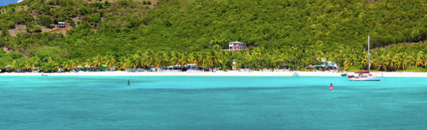 British Virgin Islands Photograph - Panorama Of White Bay, Jost Van Dyke by Cdwheatley