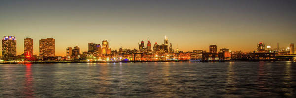 Wall Art - Photograph - Panorama - Philadelphia Cityscape On The Delaware River by Bill Cannon