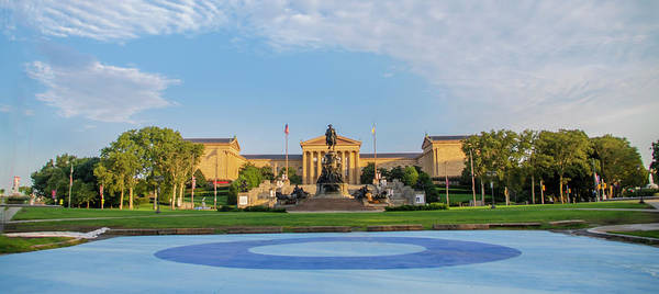 Photograph - Panorama - Philadelphia Museum Of Art by Bill Cannon