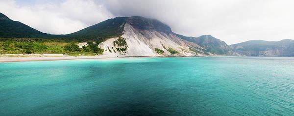Wall Art - Photograph - Panorama Shot Of Kozushima Island And by Ippei Naoi