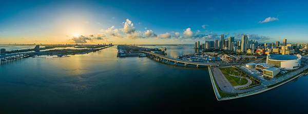 Photograph - Miami Florida - Skyline by Fine Art Gallery