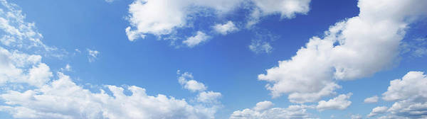 Wall Art - Photograph - Panoramic Blue Sky Skies Series by Caracterdesign
