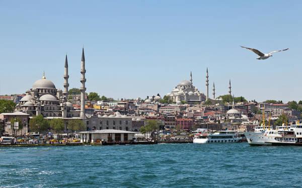 Suleymaniye Mosque Photograph - Panoramic Istanbul by Sinankocaslan