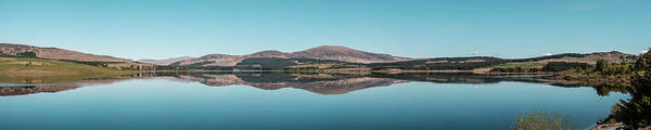 Wall Art - Photograph - Panoramic Of Clatteringshaws Loch Near New Galloway In Scotland by Jon Ingall