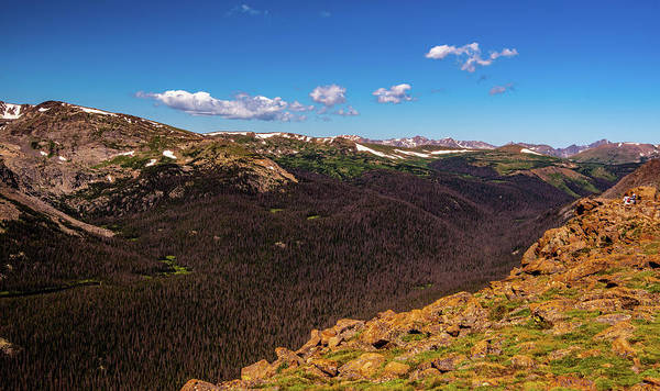 Wall Art - Photograph - Panoramic Peaks by Steven Ainsworth