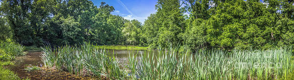 Kammerer Wall Art - Photograph - Panoramic Pond View by Colleen Kammerer