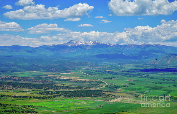 Photograph - Panoramic View From Mesa Verde by Susan Rydberg