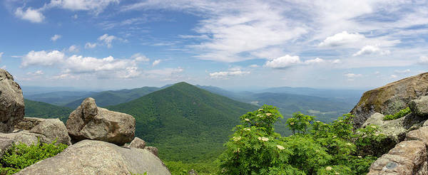 Wall Art - Photograph - Panoramic View Of Flat Top Mountain by Teresa Mucha