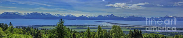 Wall Art - Photograph - Panoramic View Of Homer Spit by Robert Bales