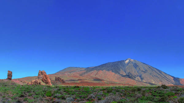 Photograph - Panoramic View Of Mount Teide by Sun Travels