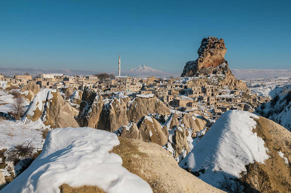 Nevsehir Photograph - Panoramic View Of Ortahisar And Mount by Ayhan Altun