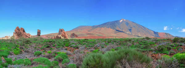 Photograph - Panoramic View Of The Teide National Park by Sun Travels