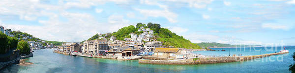 Photograph - Panoramic Vista Of Looe Estuary by James Lavott