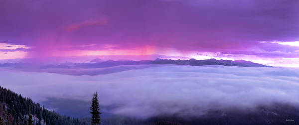 Photograph - Panoramic Wilderness by Leland D Howard
