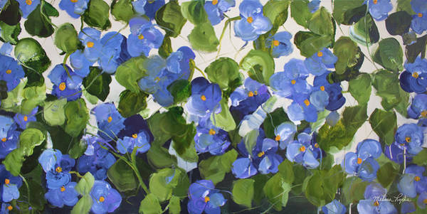 Wall Art - Painting - Pansies by Melissa Lyons
