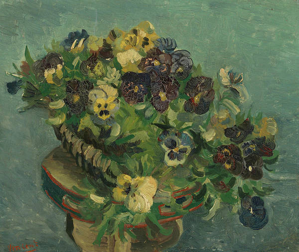 Wall Art - Painting - Pansies by Vincent Van Gogh