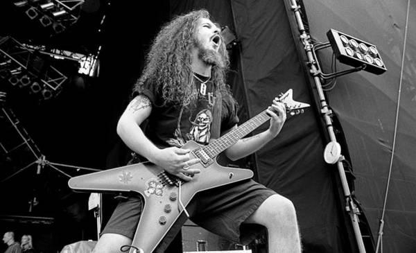 Guitarist Photograph - Pantera 1994 by Martyn Goodacre