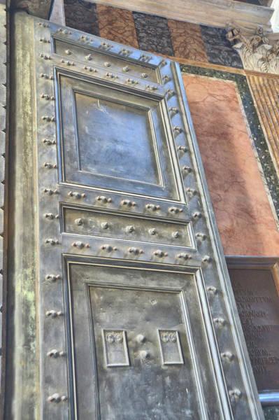 Photograph - Pantheon Door by JAMART Photography