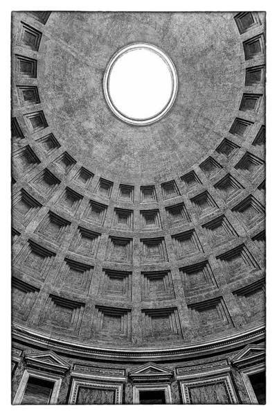 Photograph - Pantheon In Rome by Wolfgang Stocker