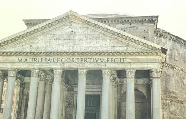 Photograph - Pantheon by JAMART Photography