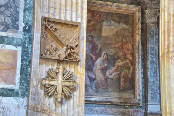 Photograph - Pantheon Relics by JAMART Photography
