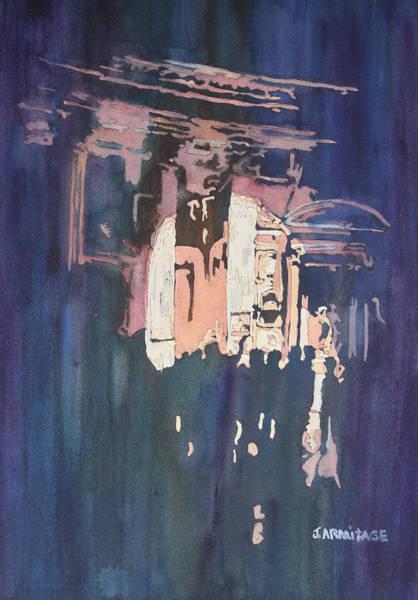 Painting - Pantheon Spotlight by Jenny Armitage